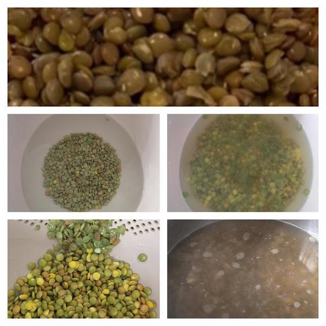 как варить зеленую чечевицу
