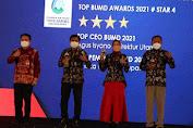 Lagi, Perumda Air Minum Tirta Baribis Brebes Raih TOP BUMD Awards 2021