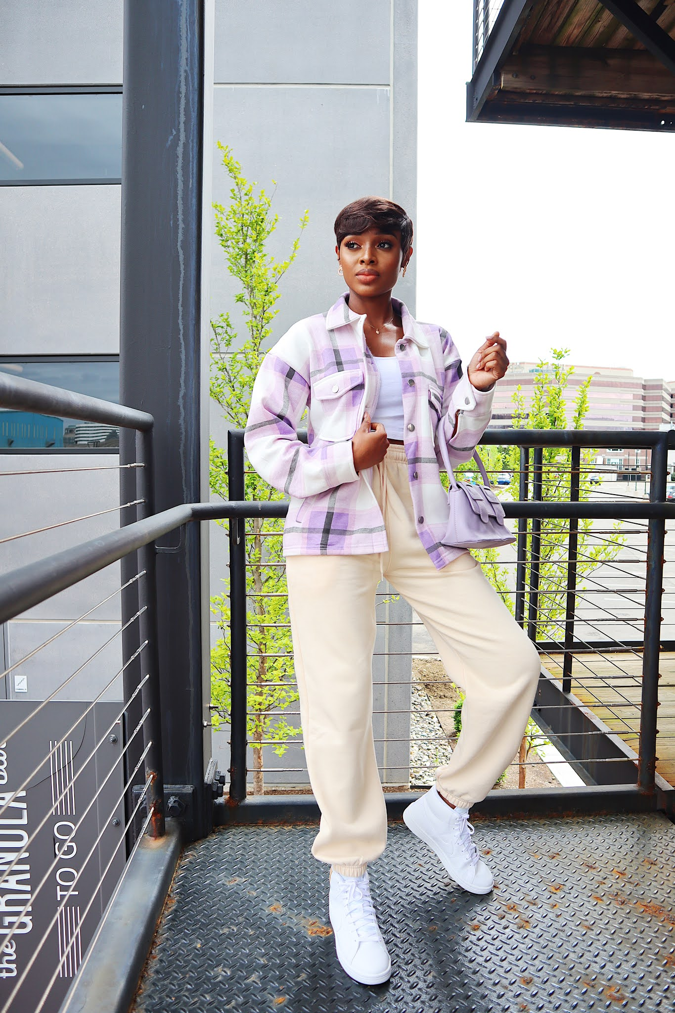 How to style a femme luxe shaccket