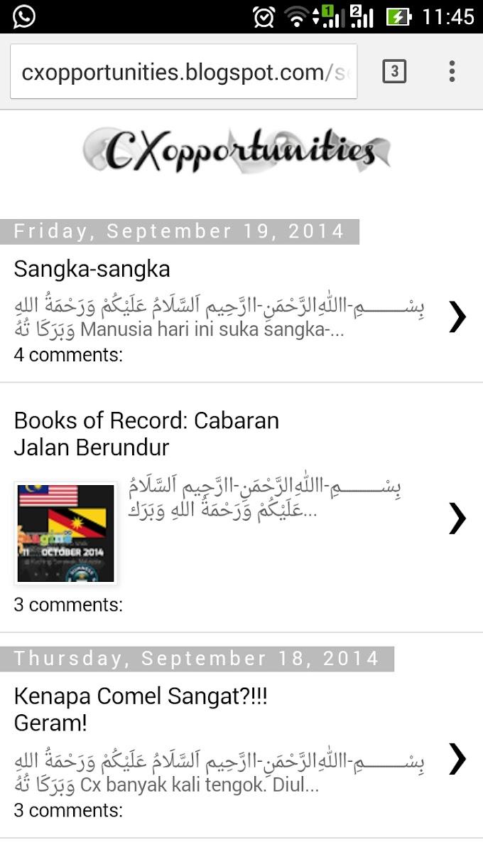 update blog guna telefon