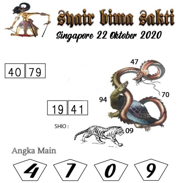 Kode syair Singapore Kamis 22 Oktober 2020 173