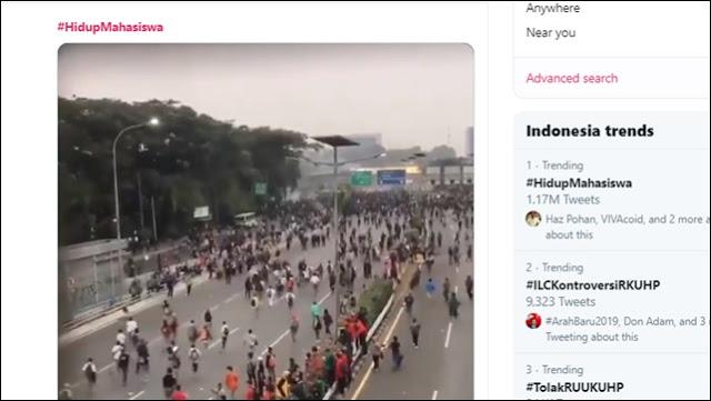 Dicuitkan Lebih Dari Sejuta Kali, #HidupMahasiswa Menggilas Tagar 'Dukung Jokowi'