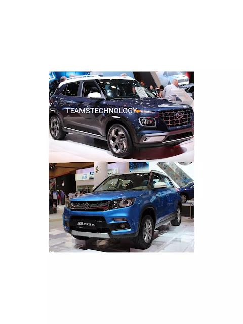 Hyundai Venue Beats Maruti Suzuki Vitara Brezza to Become popular and Best selling Compact SUV in India