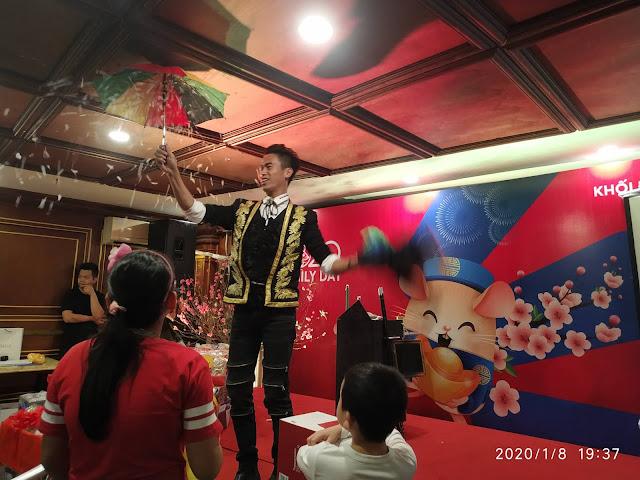 Cho thuê ảo thuật gia biểu diễn tại Hoàng Mai