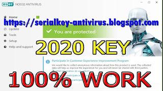 License Key Eset Nod32 Antivirus Valid 2020 2021 2022 Serial Key Antivirus