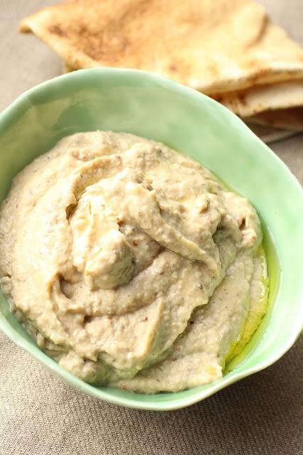 melitzanosalata recette grecque ail et noix