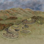 Древнюю крепость в Шотландии обнаружили благодаря пиктограммам