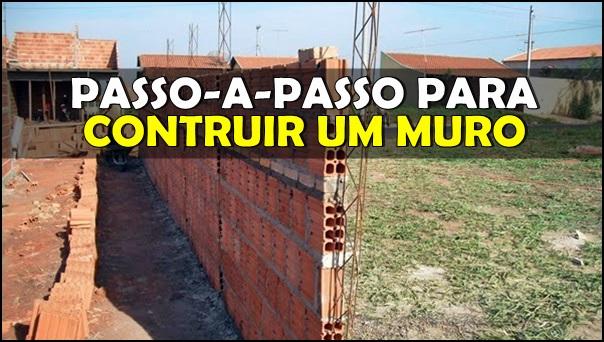 construção de um muro