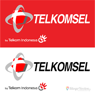 Telkomsel Logo Vector