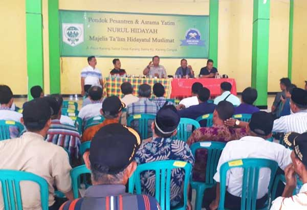 Caleg Dapil 4 Bekasi Nurfahroji Sosialisasikan BPJS Ketenagakerjaan