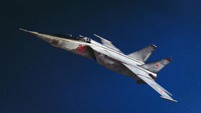 Have MiG, Will Travel - Mikoyan Gurevich MiG-25 Foxbat - Image Nawfal BenbennNasser