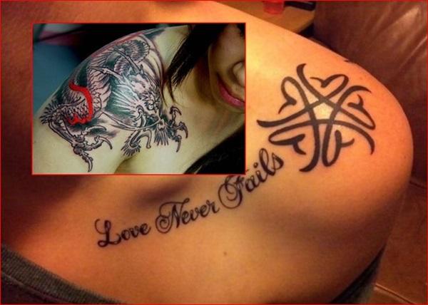 25 Wunderschöne Schulter Tattoo Designs