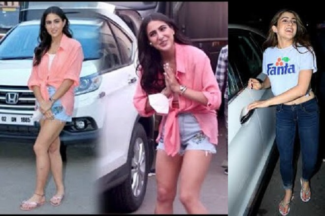 Young Indian star Sara Ali Khan shines in her latest appearance.