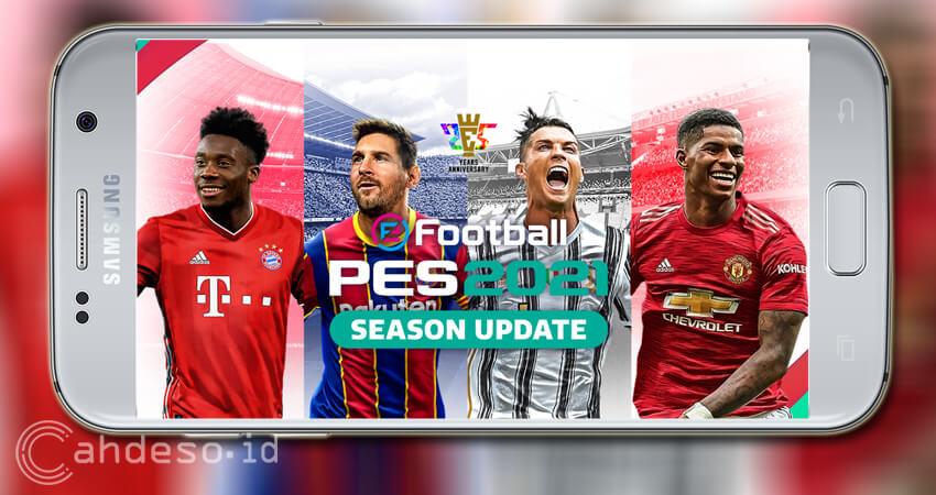 Fakta e-Football PES 2021 Mobile