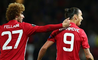 MU Kehilangan Fellaini, Ibrahimovic Comeback Awal Desember