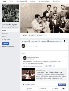 https://www.facebook.com/Radioteatro-Ágora-167157270657338