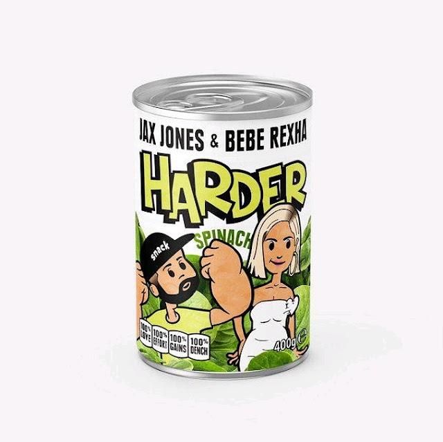 """Ouça """"Harder"""", divertida parceria entre Jax Jones e Bebe Rexha."""