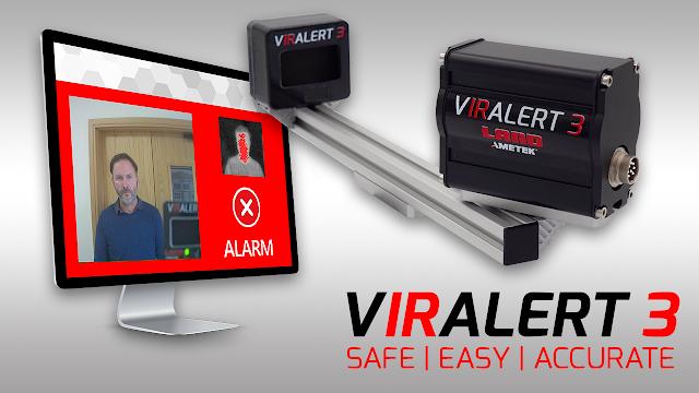 vIRalert 3 Human Temperature Sensing System