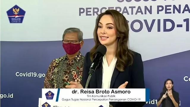 Ditunjuk Jadi Jubir, dr Reisa Targetkan Periksa 20 Ribu Spesimen Covid-19 Per Hari