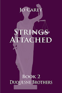 Strings Attached (Duquesne Brothers Book 2) by Jo Carey
