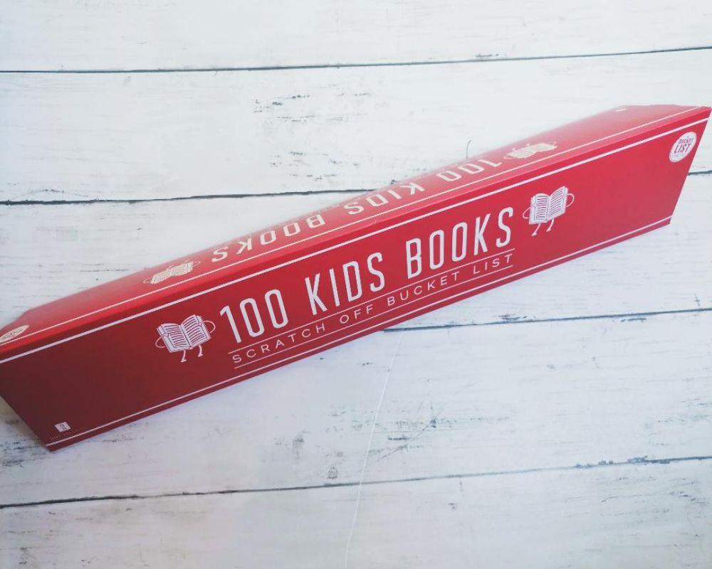 100 Kids Books Scratch Off Bucket List review