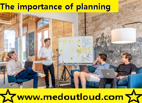 The importance of planning