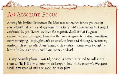 reglas Lion ElJonson