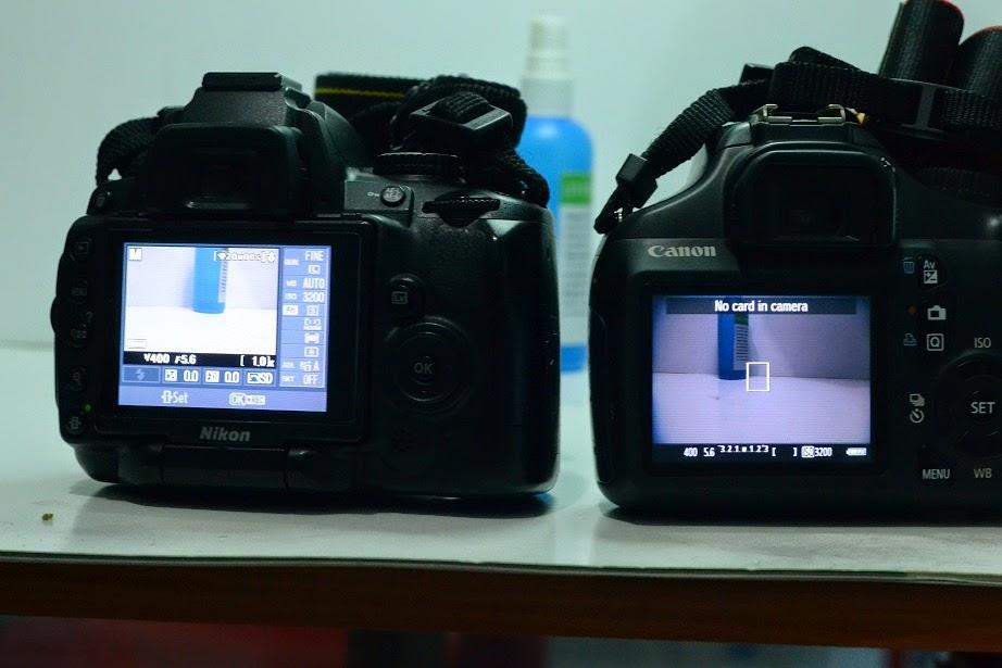 Perbedaan Mode Live View Kamera  Canon dan Nikon
