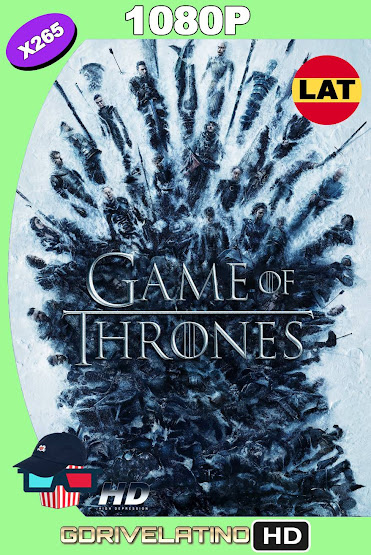 Game of Thrones Temporada 08 BDRip 1080p X265 Latino-Ingles MKV