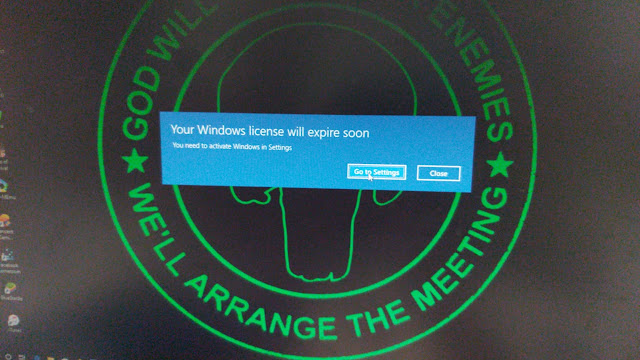 Cara Menghilangkan Peringatan Windows 10 License Expire 1