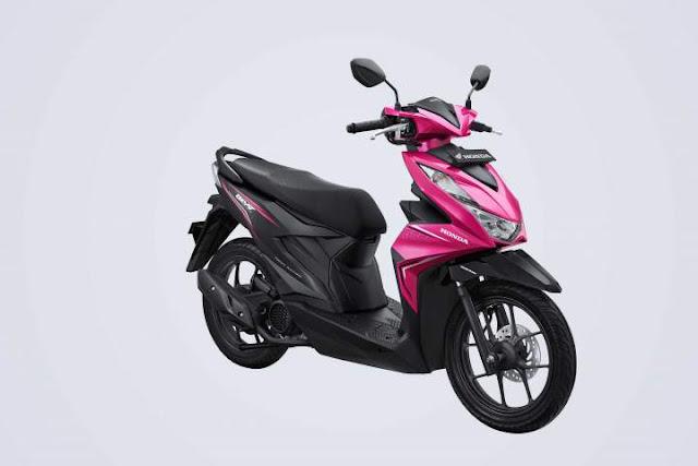 All New Honda BeAT 2020 Warna Sporty Fushcia