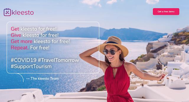 Δωρεάν η νέα πλατφόρμα διαχείρισης κρατήσεων kleesto για την υποστήριξη τουριστικών επιχειρήσεων