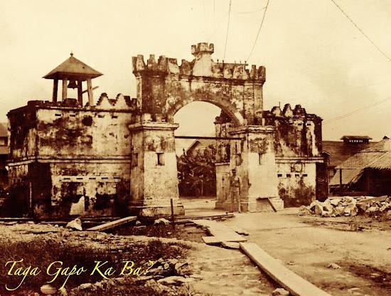 Spanish Gate in Olongapo City in Subic Bay circa 1910