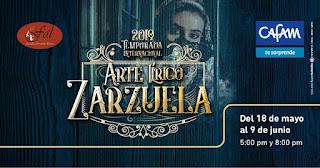 TEMPORADA DE OPERA y ZARZUELA 2019: Teatro CAFAM Bogotá