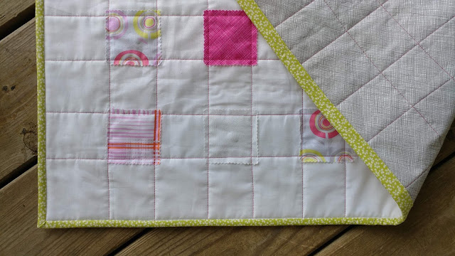 Quilt-As-You-Go quick and easy baby quilt
