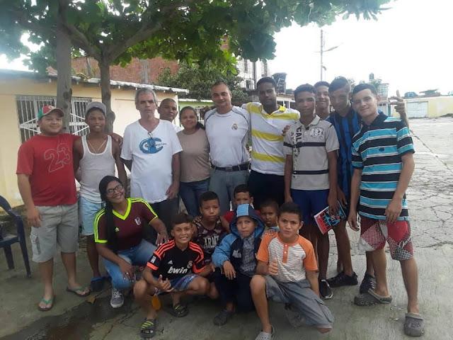APURE: En Radiofónica en el Tamarindo continua el Fútbol Calle.