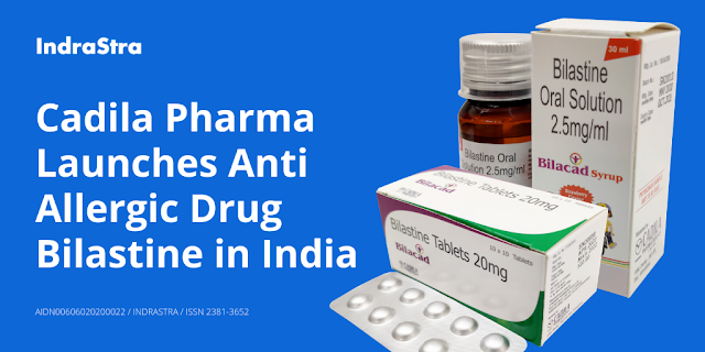 Cadila Pharma Launches Anti Allergic Drug Bilastine in India