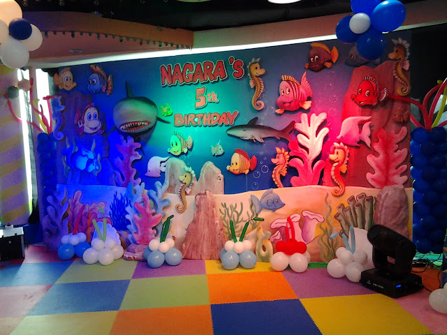 Backdrop ultah, dekorasi backdrop ultah, backdrop Birthday party, backdrop styrofoam