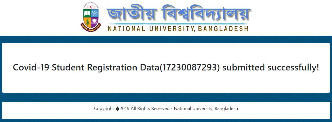 National University Student Covid-19 Vaccine Registration Process