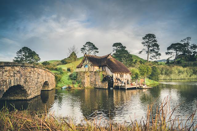 The mill at Hobbiton
