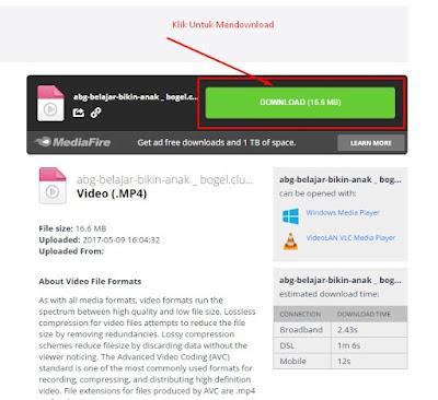 Cara Download Bokep Dari HP