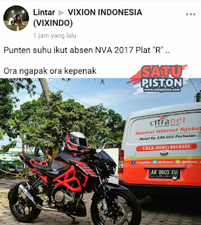 Modifikasi Yamaha New Vixion Advance  (NVA) Pakai Tubular Keren