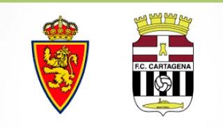 Resultado Zaragoza vs Cartagena liga 30-8-21