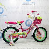 Sepeda Anak Turanza 891 Girl n Her Doggies CTB 16 Inci