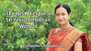 Diet chart for a 50 year old Indian woman