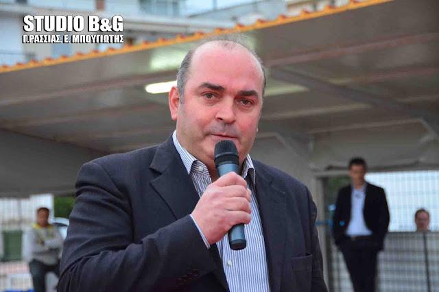 Βασίλης Σιδέρης: Η πλειοψηφία της ΕΠΣ Αργολίδας επίσημα στη Θεσσαλονίκη