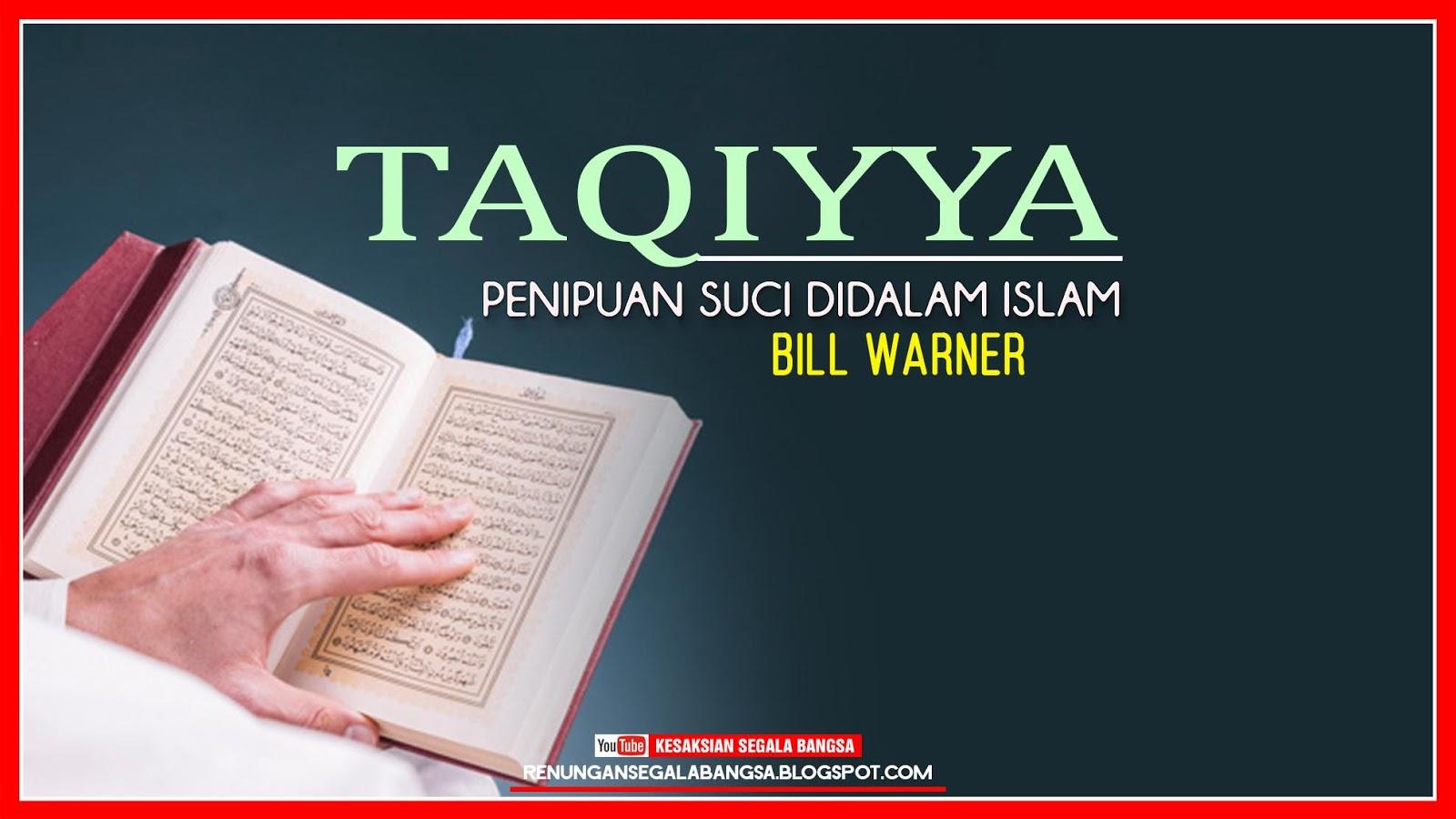 Mengenal Apa Itu Taqiyya - Renungan Segala Bangsa