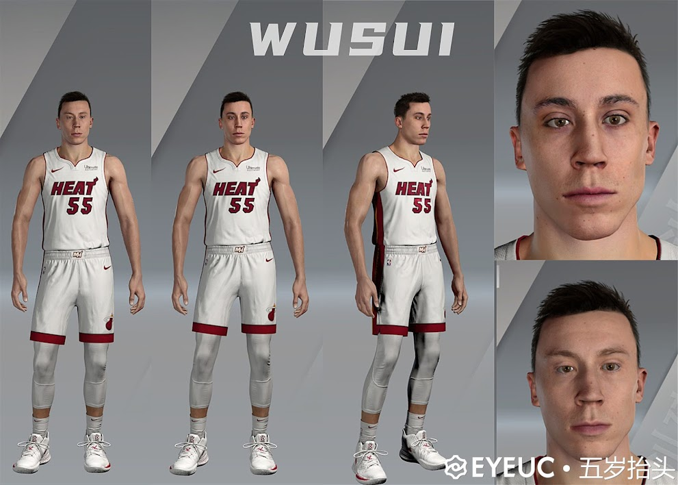 Duncan Robinson Cyberface and Body Model By Five Years Old [FOR 2K21]