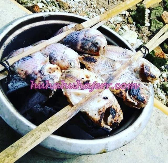 Ikan Bakar Cara Kampung VS Ikan bakar Cara Moden Menggunakan Air Fryer