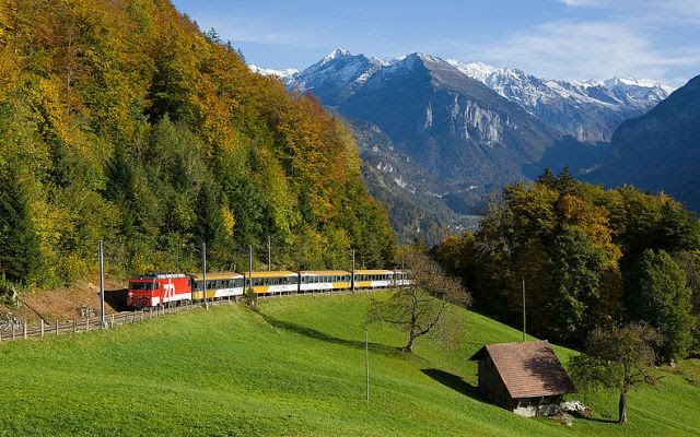 Brünig Pass, Bernese Oberland
